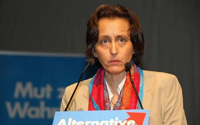 Beatrix Von Storch of Alternative for Germany. (CC BY-SA, Wikimedia)