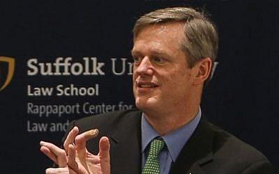Massachusetts Governor Charlie Baker. (Wikimedia)
