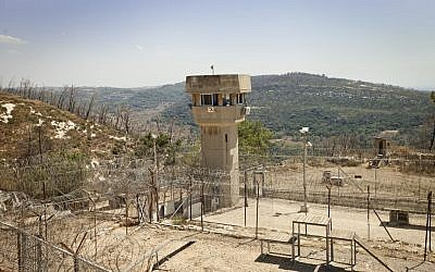 View of the Damon prison, located in northern Israel. August 1, 2012. (Moshe Shai/Flash90)