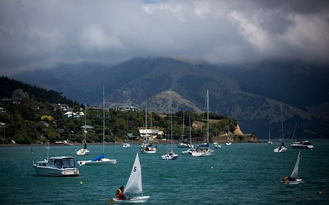 Illustrative photo of a small harbor in New Zealand, February 09, 2016. (Miriam Alster/FLASH90)