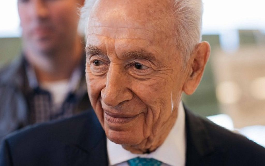 Shimon Peres, the last of Israel's founding fathers, dies at 93