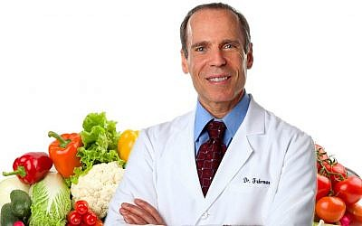 Dr. Joel Fuhrman, author of the 'Eat to Live' series and founder of the 'nutritarian' lifestyle (Courtesy)