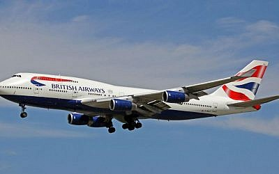 Illustrative photo of a British Airways 747 passenger jet. (Ken Fielding/Wikipedia/CC BY-SA 3.0)