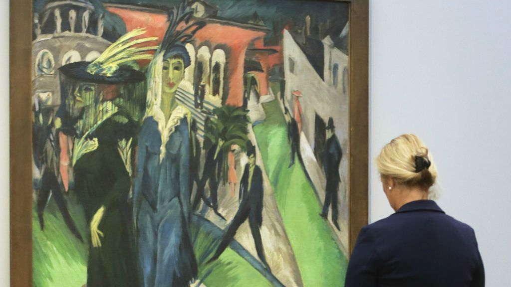 iconic works by expressionist kirchner go on show in berlin the