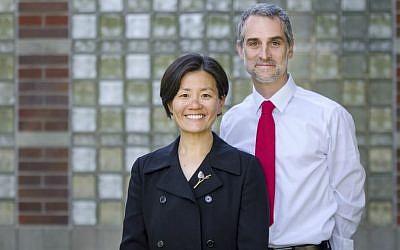 'JewAsian' authors Helen Kim and Noah Leavitt (Matthew Zimmerman Banderas)