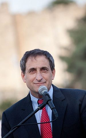 Former ambassador to the US and current International Chairman of the Jerusalem Foundation Sallai Meridor. (Courtesy Jerusalem Foundation)