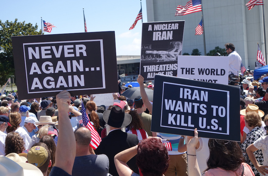 Image result for jews demonstration against iran