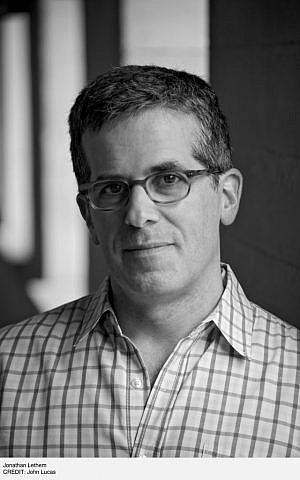 Jonathan Lethem (John Lucas/via JTA)