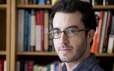 Jonathan Safran Foer (Jeff Mermelstein/via JTA)