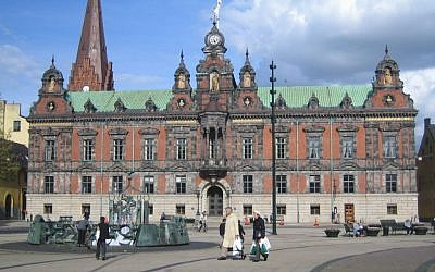 The Old Town Hall in the center of the Swedish city of Malmo. (Public Domain/Wikimedia Commons)