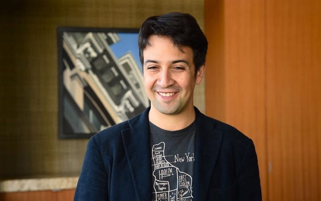 lin manuel miranda stars in new video for yeshiva university the times of israel. Black Bedroom Furniture Sets. Home Design Ideas