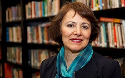 Retired Iranian-Canadian professor Homa Hoodfar. (Courtesy of Amanda Ghahremani via AP)