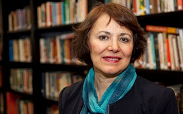 Retired Iranian-Canadian professor Homa Hoodfar. (Courtesy of Amanda Ghahremani via AP)