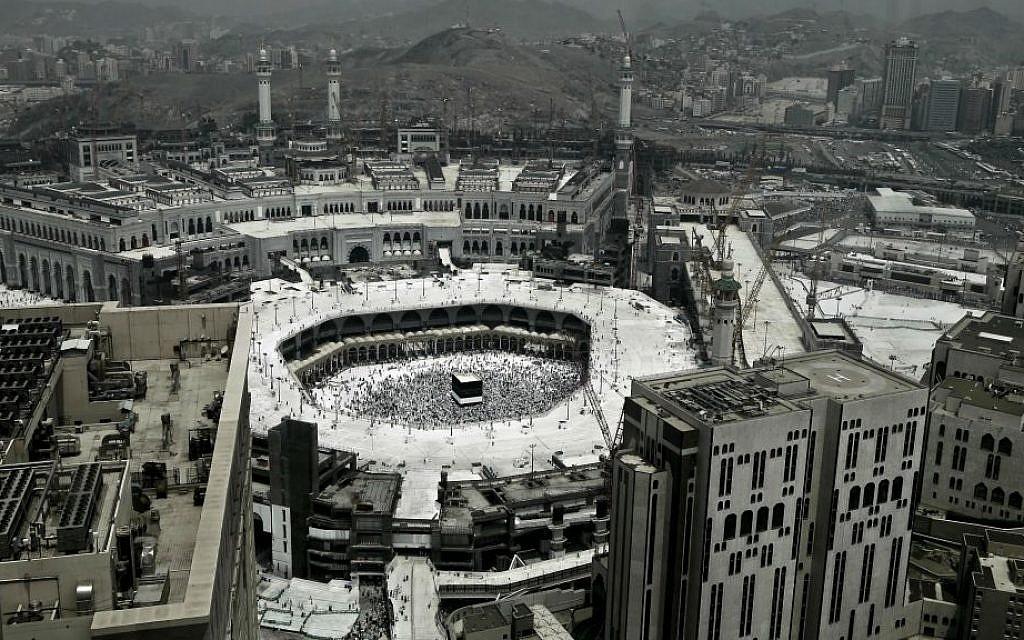 Saudi Media Accuses Yemeni Rebels Of Firing Missiles At Mecca The Times Of Israel