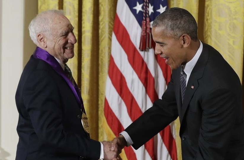 Image result for mel brooks and obama