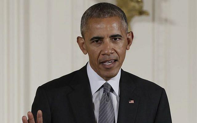 In this photo taken Sept. 22, 2016, President Barack Obama speaks in the East Room of the White House in Washington. (AP/Carolyn Kaster, File)