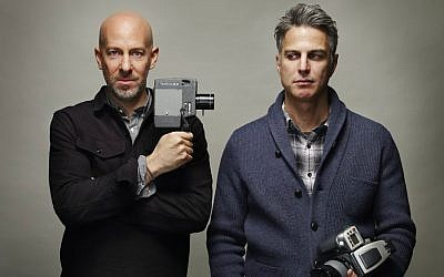 Filmmaker Joshua Seftel (left) and artist and photographer Phillip Toledano (Doron Gild)
