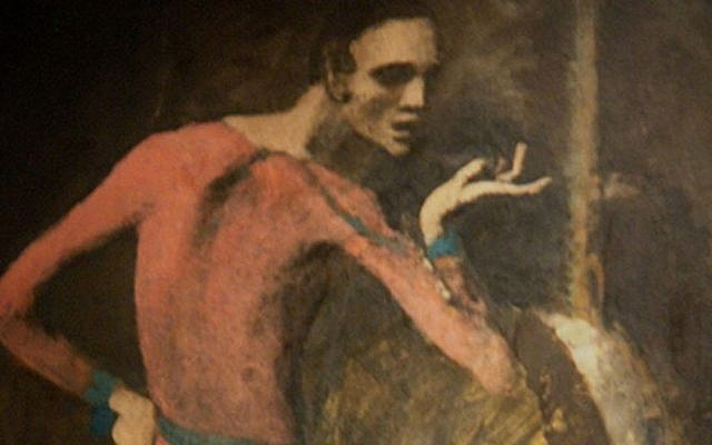 'The Actor,' by Pablo Picasso. (Wikimedia)