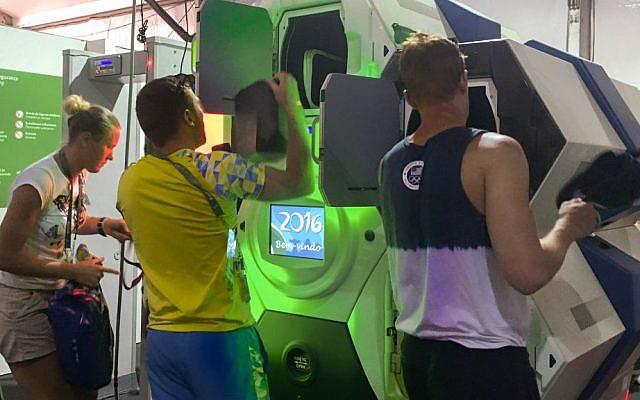 Qylur in use in Rio Games 2016 (Courtesy)