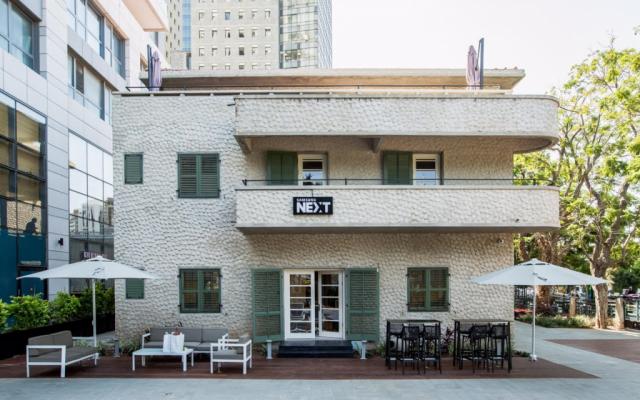 Samsung's new office space in Tel Aviv, on September 24, 2016. (Tomer Foltyn)