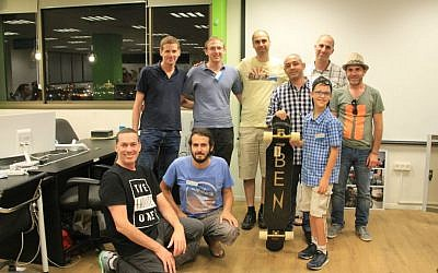 Tikkun Olam Maker's team who worked with Ben (Courtesy)