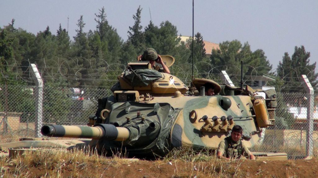 Turkey Army Chief Vows To Press On With Syria Operation The - Where is syria and turkey