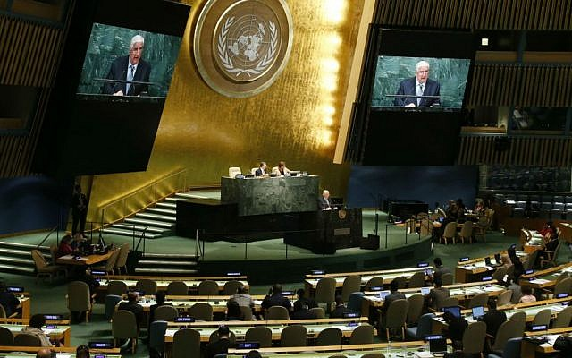 The 71st session of the United Nations General Assembly at UN headquarters in New York, Saturday, September 24, 2016. (AP Photo/Jason DeCrow)