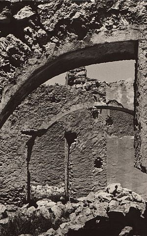 'Ruins in Almeria, Spain.' Shot between film takes while Nimoy was filming 'Catlow,' a 1971 western with Yule Brenner and Richard Crenna. (Courtesy)
