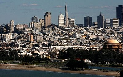 Cityscape of San Francisco, May 4 2009. (Daniel Dreifuss/Flash90)