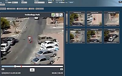 Agent Vi's video analytics software can help authorities find certain people or vehicles in their cities. (YouTube screenshot)