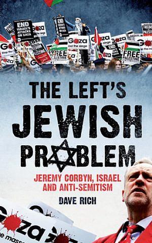 Cover, 'The Left's Jewish Problem.' (Courtesy Biteback Publishing)