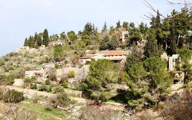The ancient village of Ein Kerem is now a quaint neighborhood in southwest Jerusalem. (Shmuel Bar-Am)