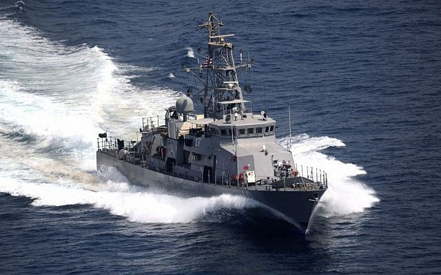 The USS Firebolt in a 2011 photo. (US Navy)