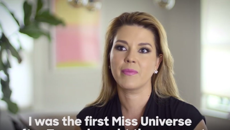 Former Miss Universe Alicia Machado speaks on Donald Trump's treatment of her in a video of Inside Edition, September 27, 2016. (Screenshot)