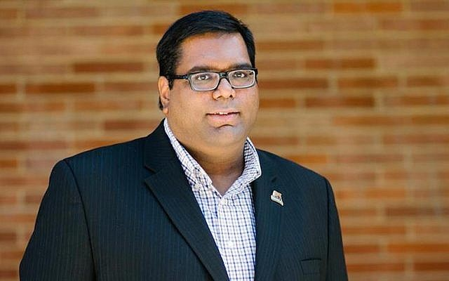 Milan Chatterjee is leaving UCLA because of the harassment he faced from pro-BDS groups. (Facebook)
