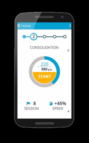 The GlassesOff app for mobile phones (Courtesy)