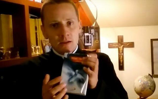 Father Jacek Miedlar (Youtube screenshot)