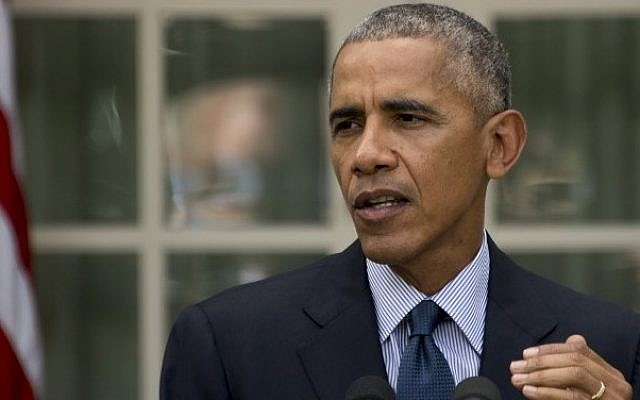 US President Barack Obama at the White House in Washington, DC, October 5, 2016. (AFP/JIM WATSON)