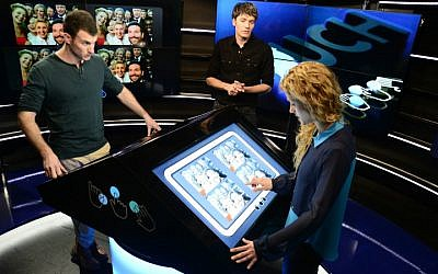 Contestants on the job in 'Touch,' Keshet's latest game show that will now go international with BuzzFeed Motion Pictures. (Courtesy Keshet International)