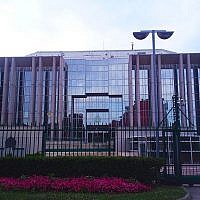 Interpol headquarters in Lyon, France (CC BY-SA Massimiliano Mariani/Wikipedia)