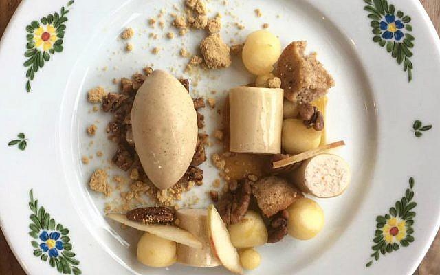 Alex Levin's 'Mele' dessert (Courtesy)