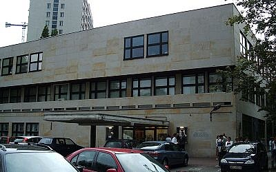 The old Warsaw Jewish Theater building. (Wikimedia Commons/Tadeusz Rudzk)