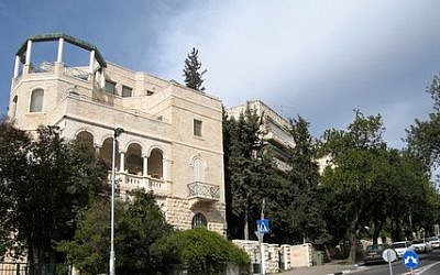 A view of Marcus Street in Talbieh, on which the Jerusalem Theater is located. Talbieh is one of the Jerusalem neighborhoods with a large number of Greek Orthodox Patriarchate-owned properties (Courtesy Eiferman Realty)