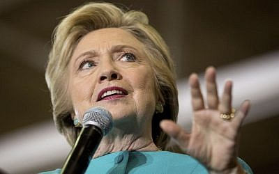 Democratic presidential candidate Hillary Clinton speaks at a rally at Palm Beach State College in Lake Worth, Fla., Wednesday, Oct. 26, 2016. (AP/Andrew Harnik)