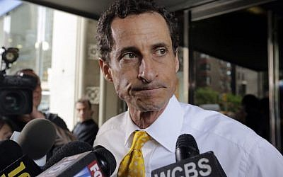 Anthony Weiner Sentenced to 21 Months In Sexting Case