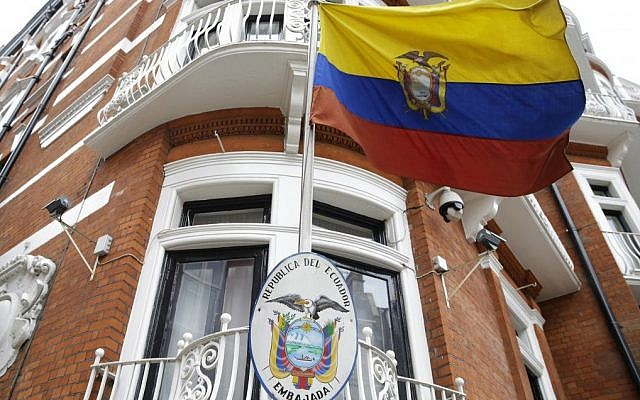 Ecuador denies decision made to expel Wikileaks founder from