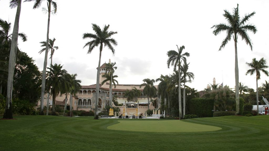 This March 11, 2016, file photo shows the Mar-A-Lago Club, owned by Republican presidential candidate Donald Trump, in Palm Beach, Florida. (AP Photo/Lynne Sladky, File)