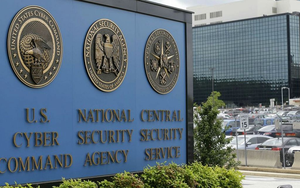 This June 6, 2013 file photo shows the sign outside the National Security Agency (NSA) campus in Fort Meade, Maryland. (AP Photo/Patrick Semansky, File)