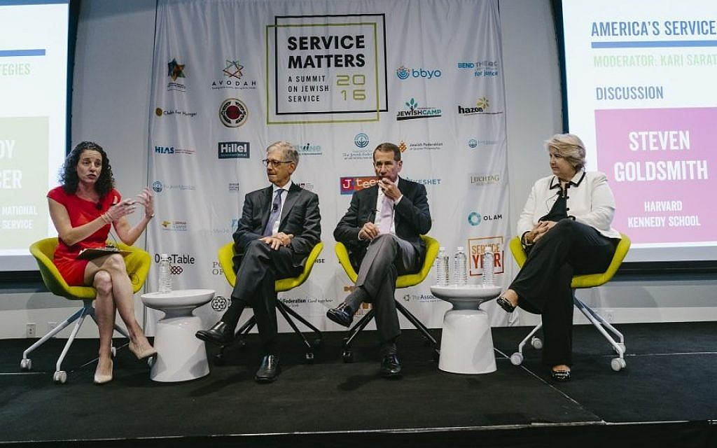 Thirty-five organizations gathered at the inaugural Service Matters Summit in New York City. (Stefano Giovanini)
