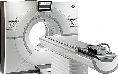 GE Healthcare Revolution CT Scanner (Courtesy)